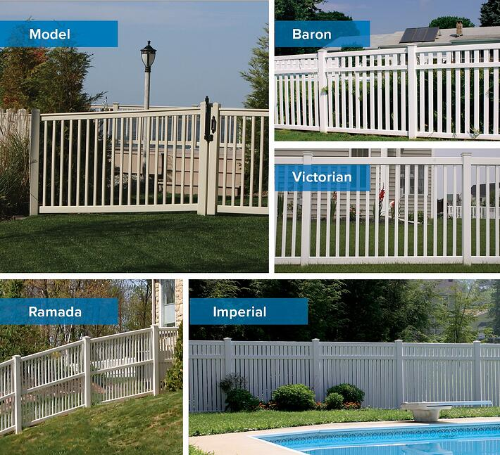 Yard Fence Collage