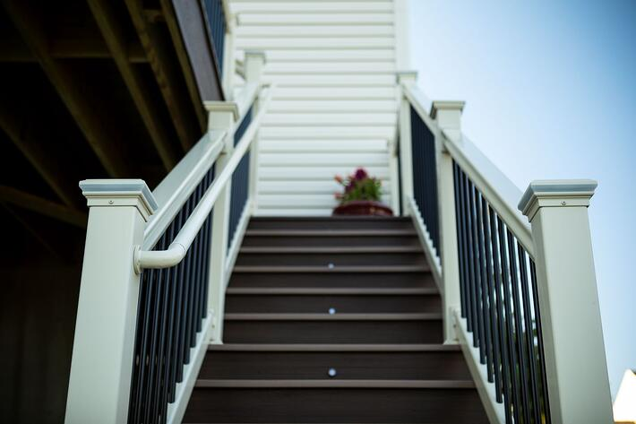 stairs with handrail smaller